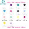 100pcs Star Choose