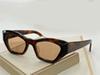 amber frame brown lens