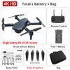 B Black 4k Dual Camera + 1800 mA Batterie