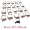 Air Lock+20 PCS White Lock