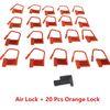 Air Lock+20 PCS Orange Lock