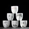 6pcs different cups