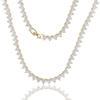 Gold White-46cm (18 pouces)