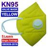 Maschera giallo con un Vavle