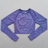 Фиолетовый топ