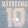 86 Argentina away Maradona font
