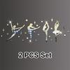 Silver 2 PCS establecido