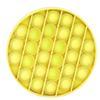둥근 노란색