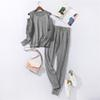 Gray Sweater Set