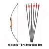 40 Lbs Bow 6 Arrow