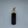 زجاجة سوداء + مضخة الذهب