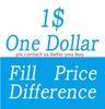 Preencha a diferença de preço