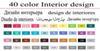 40 Diseño de interiores