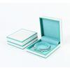 Caja de brazalete azul