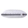 Grid White-74x48 High Pillow 15