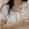 1 conjuntos / colar + pulseira + brincos