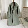 Abrigo de peluche verde