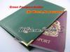 Green Passport Holder