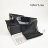 matte black silver