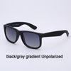 8g schwarz / grauer Gradient unpolarisiert