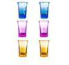 نظارات ملونة / 6PCS