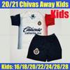 Bambini Chivas 2021 di distanza
