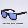 55-3p Schwarz / Blauer Spiegel Polarisiert