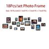 Photoframes-18pcs