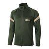 A407# 2021 Long zipper Army Green top