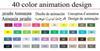 40 Diseño de animación