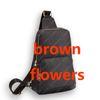 Kahverengi çiçekler