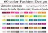 60 diseños de vestuario