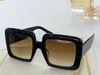 Black frame gradient tea lens