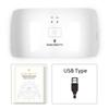 Cable USB blanco de 24W