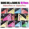 Bang xxl 10pcs / boîte - mélange flav