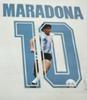20/21 Argentina Maradona blue font