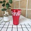 2 stücke coca rot.