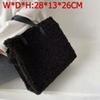 Black d-28 x 12 x 24 Cm