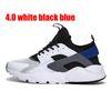 4.0 Bianco Blu Nero