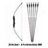 30 Lbs Bow 6 Arrow