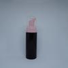 زجاجة سوداء + مضخة وردية