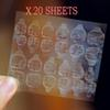 20 Sheets C