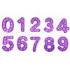 숫자 0-9 자주색