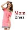 Mama Kleid Rosa.