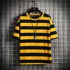 T-shirt giallo uomini