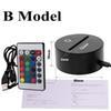 USA Stock 3D-Base-B Modell