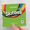 녹색 skittles 가방