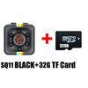SQ11 كاميرا مصغرة + 32G بطاقة TF