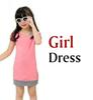 Mädchen Kleid Rosa.