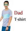 Papa T-Shirt grau